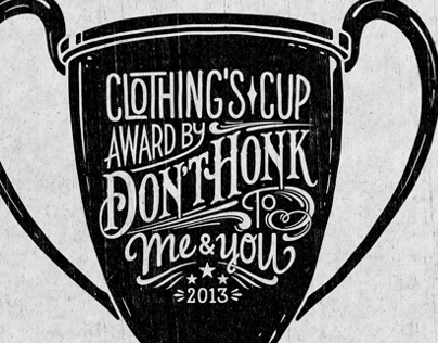 Cup Illustration & Lettering x Dont Honk