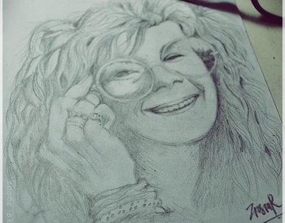 ZNSMR SKETCH PROJECT: JANIS JOPLIN