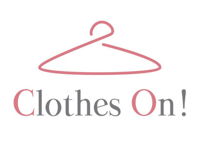 Logotipo y diseño web App Clothes On!