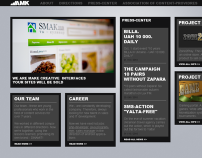 AMK sketch corporative site