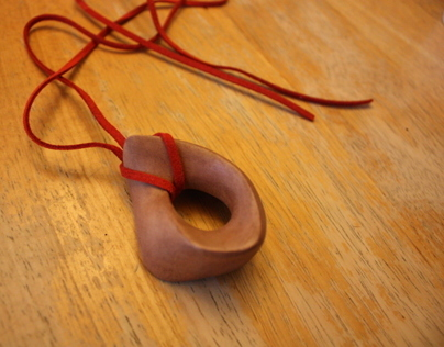 Wooden Möbius | Necklace