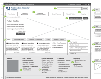 Northwestern Memorial Hospital Home Page