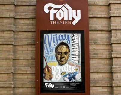 Vijay Iyer Trio at the Folly
