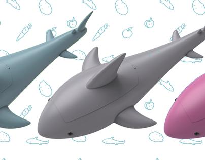 Veggie Shark Peeler
