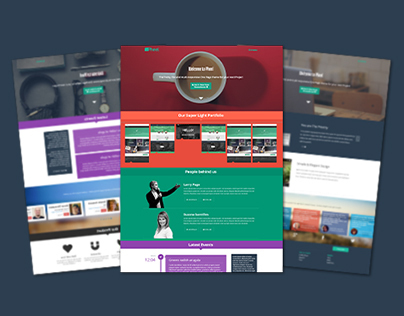 Pheel - Responsive Multi Purpose Bootstrap 3 Theme
