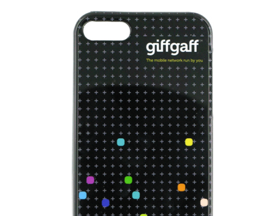 giffgaff iPhone and iPad covers product development