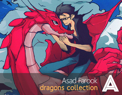 Dragons illustration collection