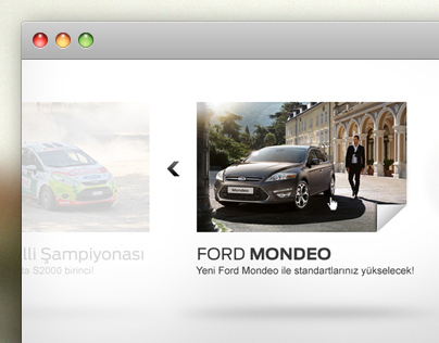 Ford Newsletter Microsite