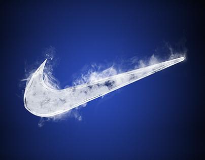 Nike ice typography