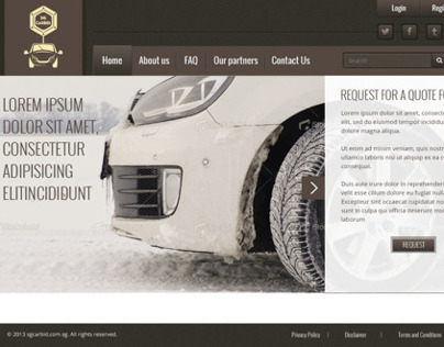 Car bid web