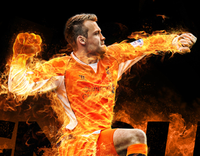 Simon Mignolet - Man on fire