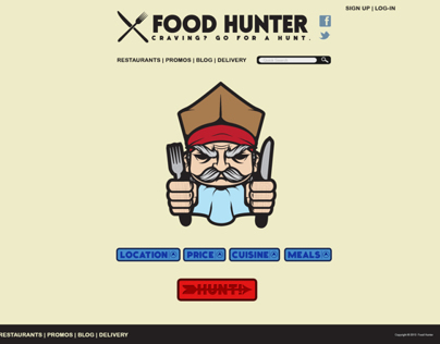 Web Design: Restaurant Finder
