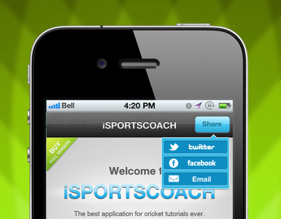 iSPORTSCOACH iPhone App