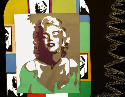 Marilyn in Technicolor