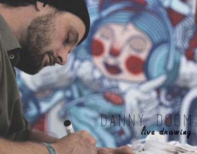 Danny Doom // Live Drawing