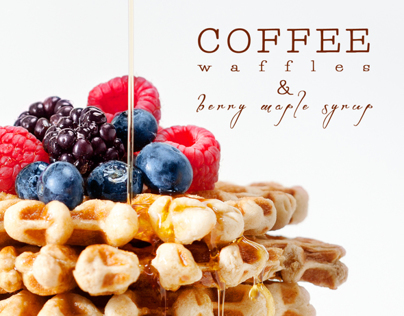 FOOD: Coffee Waffles