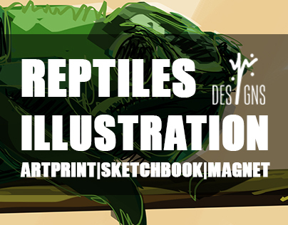 Reptiles Illustration