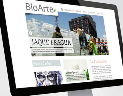 BioArte Website