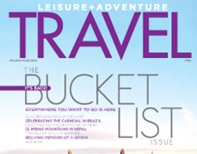 L+A TRAVEL: The Bucket List Issue
