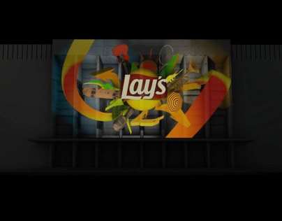 LAYS 3d video mapping Ukraine
