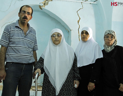 IOF Excavations results 5 families to displace