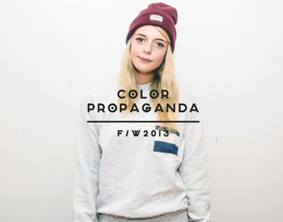 Color Propaganda F / W 2013