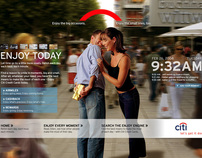 Concept: Citibank - Enjoy Today
