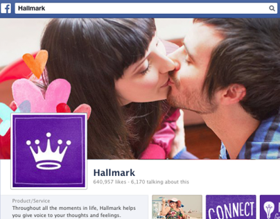 Hallmark Social Media | Graphic Design and Editorial