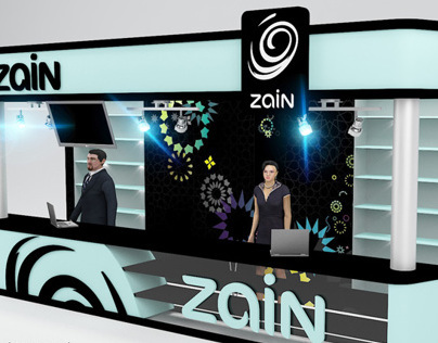 Zain Booth design