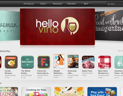 Hello Vino iPhone & iPad App (3.0)