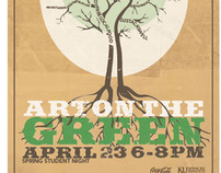 Art on the Green Poster