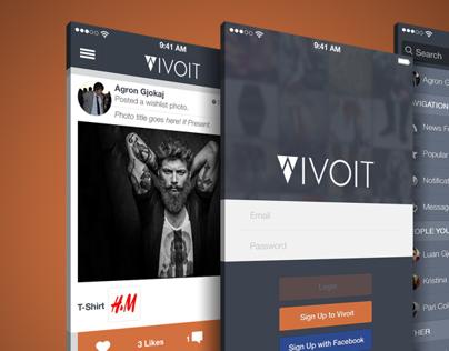 Vivoit iOS App