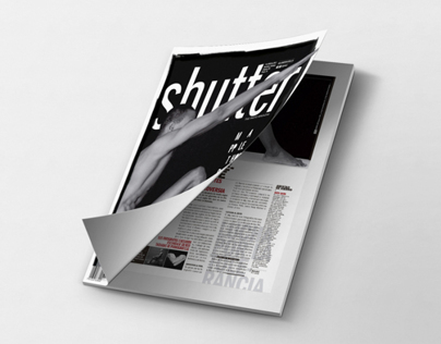 Editorial design_ Shutter Magazine