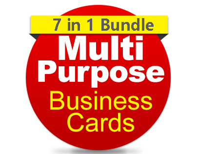 Multipurpose Business Cards Bundle