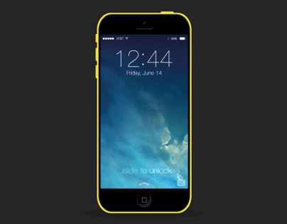 iPhone 5C in the Flat World