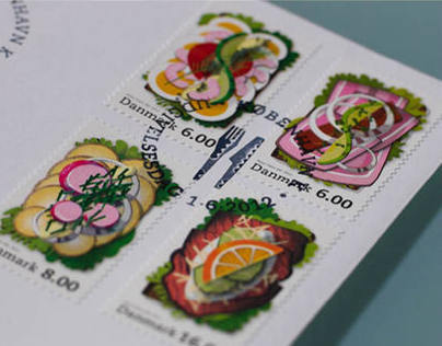 Stamps, Post Denmark