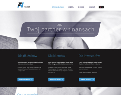 Business website Concept