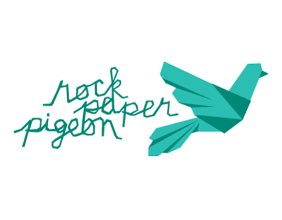 Rock Paper Pigeon, Logo + Business Card
