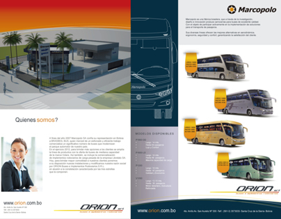 ORION Srl Brochure