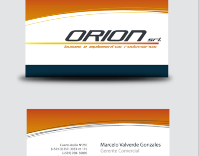 ORION brand design