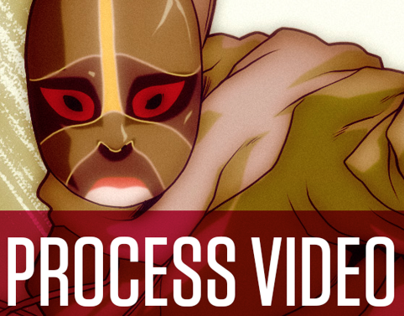 Illustration Process Video - Rocky