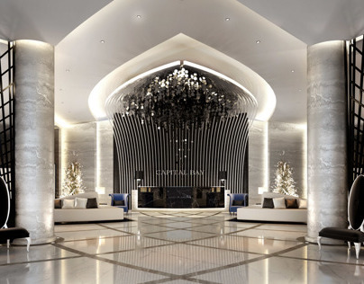 Main Lobby Interior Design