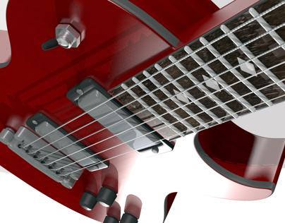 3d Model: Electric Guitar
