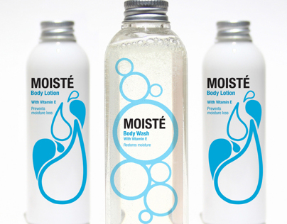 Moiste Bath and Body Products