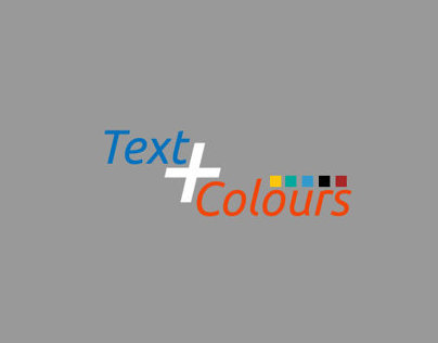 Text + Color