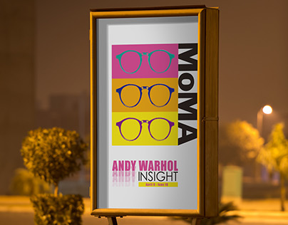 Andy Warhol MoMa Exhibition (KAZ Personal Project)
