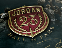 Michael Jordan - Hall of Fame Induction Project
