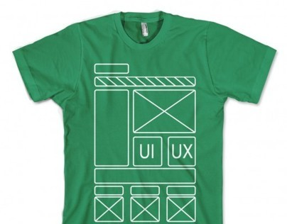 UI / UX Wireframe Tshirt for KerningWear