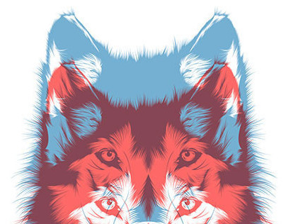 And out come the wolves // Tshirt design
