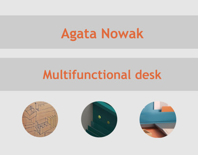 Multifunctional desk - development of the project